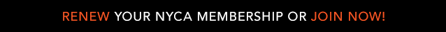 Renew Your NYCA Membership or Join Now