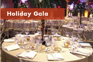 New York Claim Association Holiday Gala (tables with place settings)