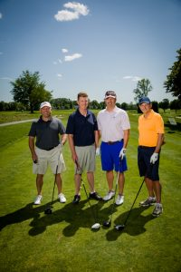golfers at NYCA 2019 Golf Outing